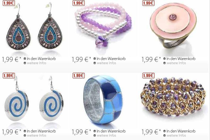 Silvity.de großer Restposten Abverkauf   ausgewählte Artikel ab 1,99€ + VSK