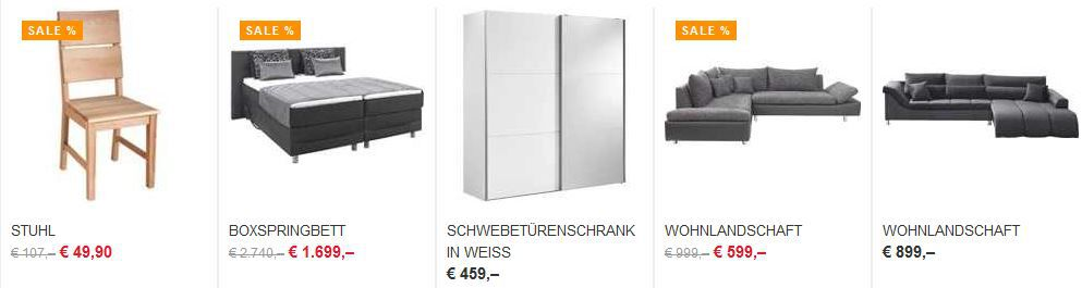 xxxl1 30€ Rabatt im XXXL Shop auf ausgewälte Artikel ab 100€