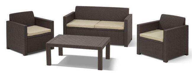Allibert Merano Lounge Sitzgruppe ab 159,20€ (statt 250€)