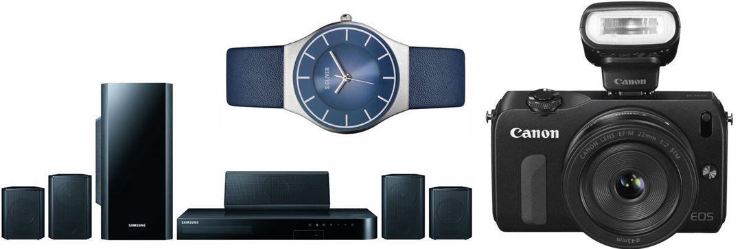 Samsung HT H5500 5.1  3D Blu ray Heimkinosystem für 239€ bei den 14 Amazon Blitzangeboten