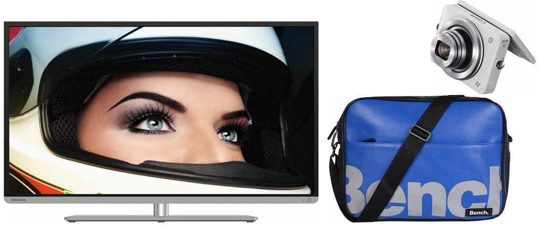 Amazon 3 Toshiba 40L5441DG   40 Zoll 3D TV für 419,99€ bei den 21 Amazon Blitzangebote!