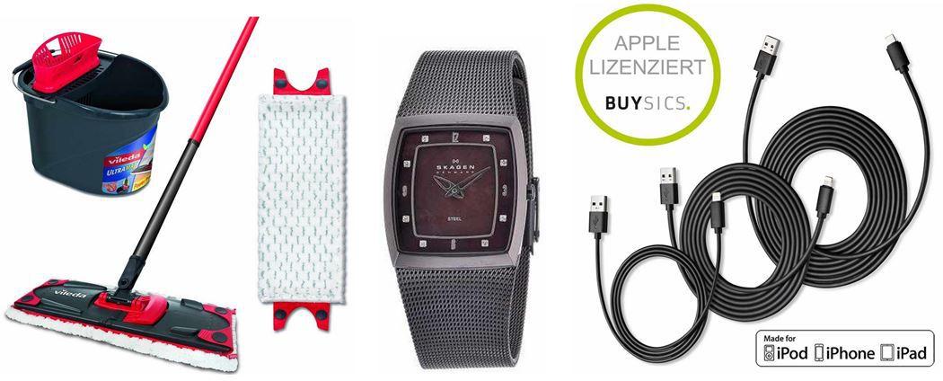 Amazon Angebot16 Skagen 380SMM   Damen Armbanduhr bei den 6 Amazon Blitzangeboten