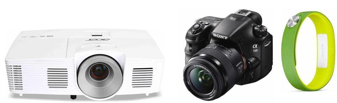 Sony SLT A58Y SLR Digitalkamera + 2 Objektive für 499€ bei den 25 Amazon Blitzangeboten