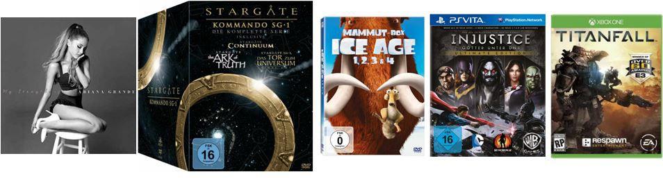 Stargate Kommando SG 1   Die komplette Serie für 59,97€ und andere günstige DVDs, MP3, Games & Blu rays @digitale Herbstschnäppchen  Update!