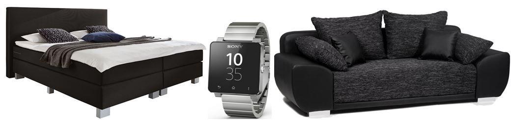 Sony SmartWatch 2 SW2 für 108€ bei den Amazon Blitzangeboten