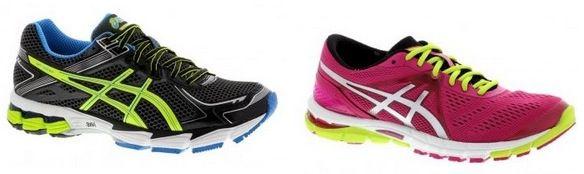 Asics Schuhe Asics GT 1000 2 für Herren für 60€ oder Asics GEL Excel33 3 für Damen für 75€