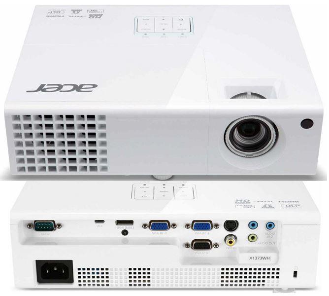 Beamer Acer X1373WH   3D Einsteiger Beamer mit HD ready und 3.000 Lumen für 326,99€   Update