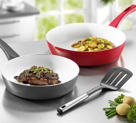 Beem Inducto XL Bio Lon 2er Pfannenset (24cm + 28cm) + Küchenhelfer für 19,99€ inkl. Versand