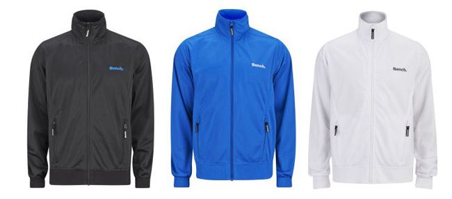 Bench Mens Classic Corp Zip Through Bench Mens Classic Corp Zip Through Jacke für ca. 16,40€