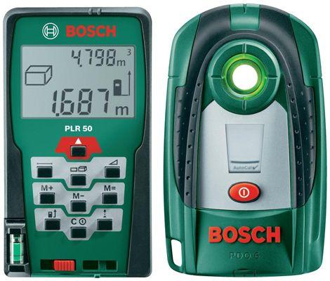 Bosch PLR 50 Laser Entfernungsmesser + PDO 6 Metall Ortungsgerät für 112,79€ (statt 144€)