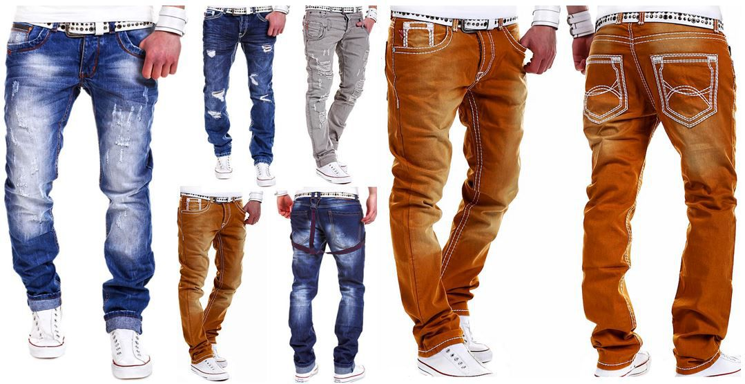 Chinos Chino und Herren Jeans   verschiedene Farben für je 24,90€