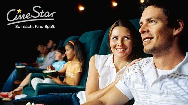 5 CineStar Kinogutscheine für alle Platzkategorien für 30€