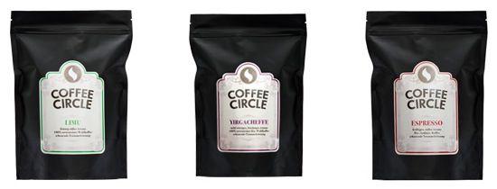 Coffee Circle 15€ Coffee Circle Gutschein mit 50€ MBW   frischer Kaffee zu günstigen Preisen