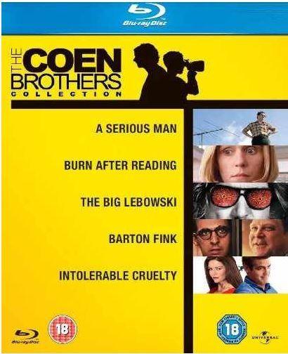Blu ray Box   Coen Brüder Collection mit 5 Filmen für 12,69€