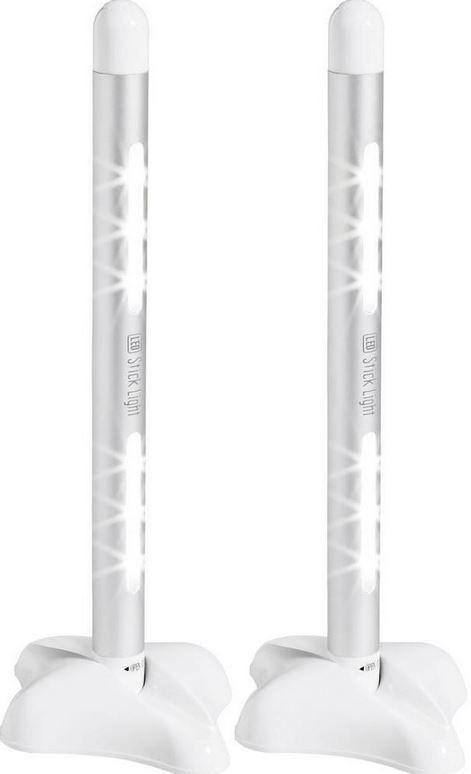 Basetech   Doppelpack mobiler LED Sticks für 11,99€ inkl. Versand