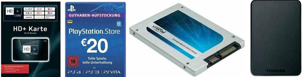 Conrad1 CONRAD   neuer  Gutschein mit 12,21€ Rabatt (MBW 45€) + VSK frei bei SFÜ   z.B. Toshiba Stor.e Basics 1TB Festplatte für 44,74€