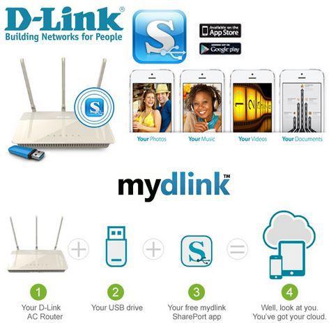 D Link  DIR 880L   Dualband Router mit Geschwindigkeiten von bis zu 1,9 Gbps für 135,90€