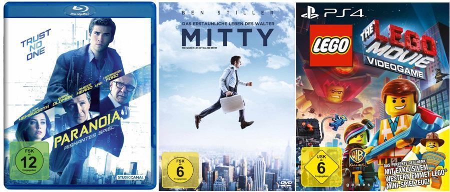DVD Blu ray1  The LEGO Movie Videogame ab 18,97€ und andere günstige DVDs, MP3, Games & Blu rays @digitale Herbstschnäppchen    Update!