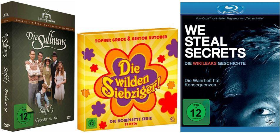 DVD Blu ray10 Die wilden Siebziger und mehr bei den Amazon DVD und Blu ray Angeboten der Woche