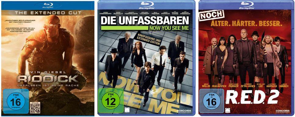 4 Blu rays für 30€ und mehr Amazon DVD und Blu ray Angebote