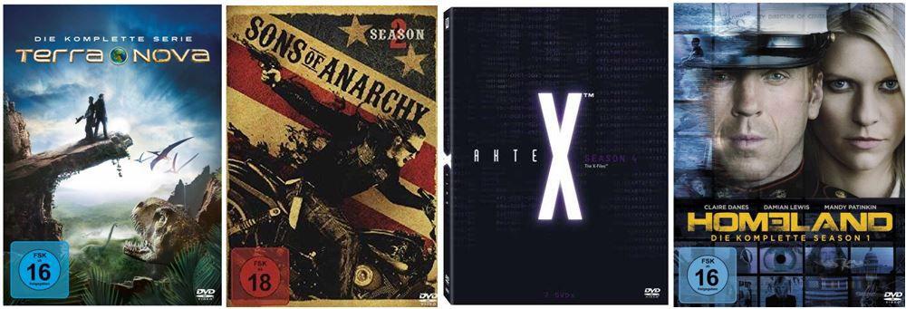Serien Staffeln günstig bei den Amazon DVD und Blu ray Angeboten der Woche