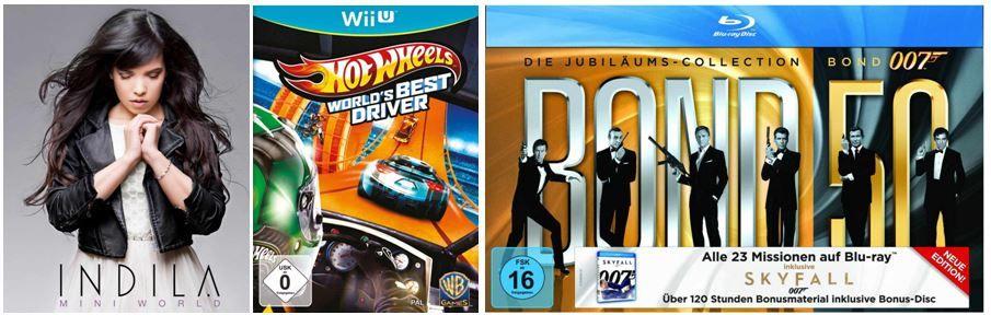 DVD Blu ray4 Stirb langsam 1 5 [Blu ray] für 24,97€ und andere günstige DVDs, MP3, Games & Blu rays @digitale Herbstschnäppchen