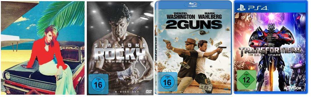 Game Transformers: The Dark Spark ab 27,97€ und andere günstige DVDs, MP3, Games & Blu rays @digitale Herbstschnäppchen