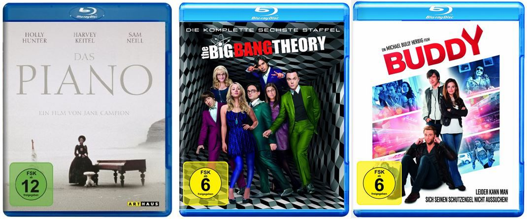 The Big Bang Theory   Die komplette sechste Staffel ab 19,99€ bei den Amazon DVD und Blu ray Angeboten der Woche