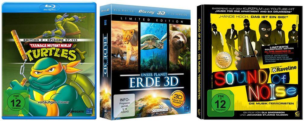 DVD Blu rays2 Unser Planet Erde 3D [Blu ray] bei den Amazon Blitzangeboten