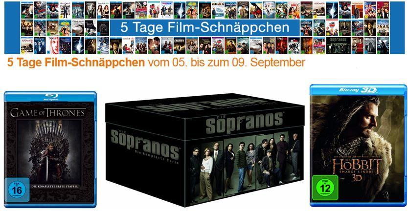 DVD Blu rays4 Amazon   5 Tage Film Schnäppchen   z.B. 3 Blu rays für 18€