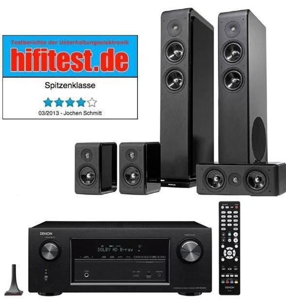Denon AVR X2100   7.2  Receiver + Audio Pro Avanto 5.0 Lautsprecher statt 1.366€ für 879€ und mehr Cyberport Weekend Deals   Update