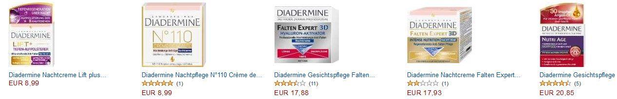 Gratis DIADERMINE Gesichtsbürste im Wert von 19€ beim Kauf von DIADERMINE Artikeln ab 10€!