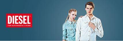 Diesel1 DIESEL   trendige Jeanswear für Damen und Herren bei Vente Privee