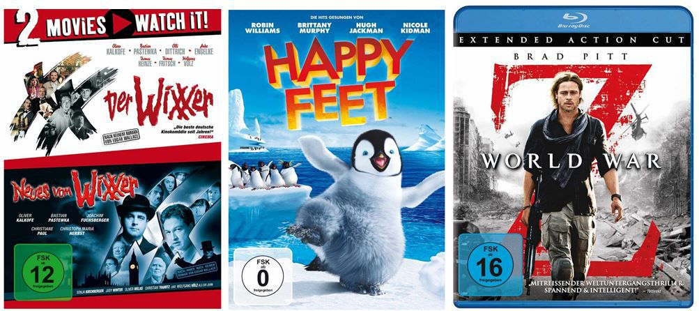 Comedy und Kabarett bis  40% und mehr Amazon DVD und Blu ray Angebote