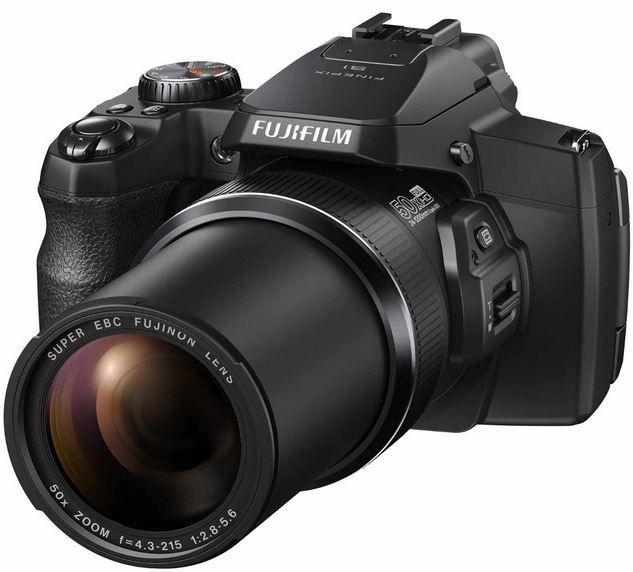 Fuji S1 Fujifilm FinePix S1   16 MP Kompaktkamera mit 50 fach opt. Zoom, WiFi für 266,13€