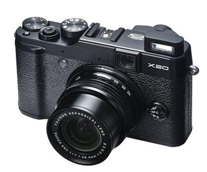 Fujifilm X20 Digitalkamera Fujifilm X20 Digitalkamera (12 Megapixel, 4 fach opt. Zoom, Full HD, bildstabilisiert) für 369€ (statt 485€)