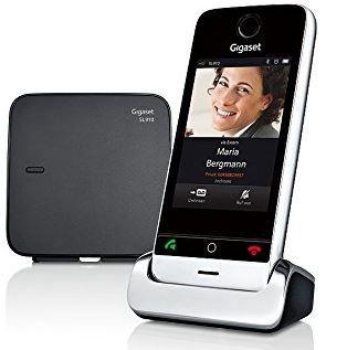 Gigaset SL910 DECT   Schnurlostelefon mit Touchscreen, Bluetooth für 88€