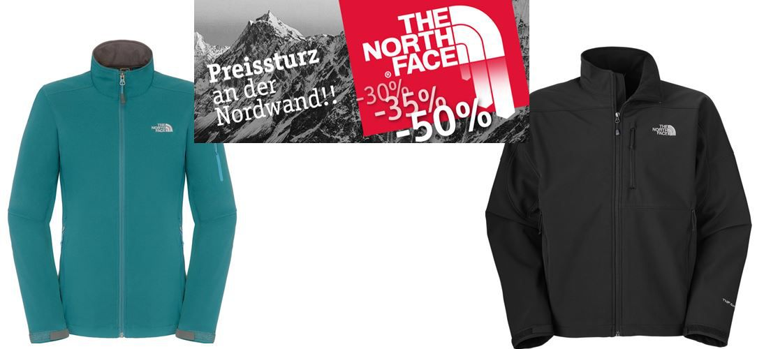 Globetrotter1 The North Face Sale bei Globetrotter mit Rabatten bis zu 50%   z.B. The North Face Resolve Jacket statt 89€ für 39,90€   Update!