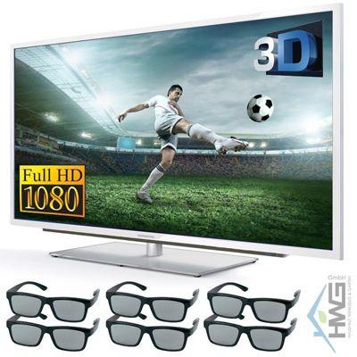 Grundig 42 VLE 9474 Grundig 42 VLE 9474   42 Zoll 3D LED Fernseher (Triple Tuner, USB, 6x 3D Brillen) für 479,99€ (statt 699€)