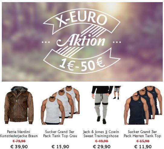 X Euro Aktion bei den Hoodboyz   1.900 Artikel ab 1€ bis 50€   FUBU und JACK&JONES u.m.   Update