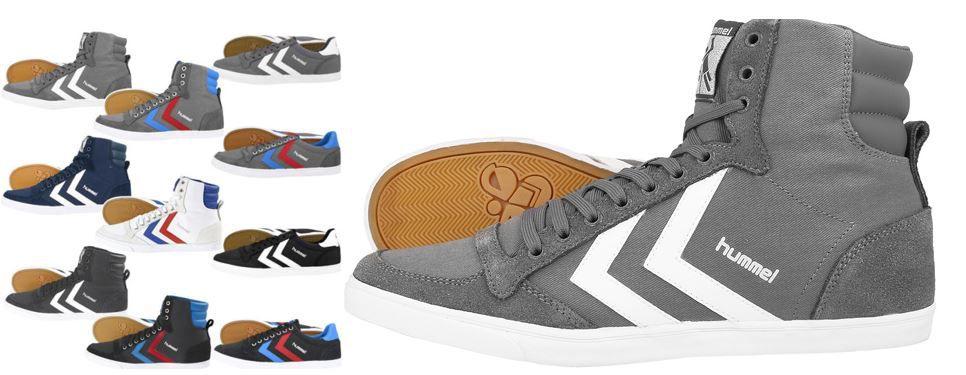 Hummel Unisex Leder Sportschuhe und Sneaker für je 37,90€