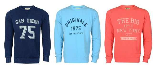Jack and Jones Fall Crew Neck Jack & Jones Fall Crew Neck Pullover in 3 verschiedenen Farben für je 19,99€