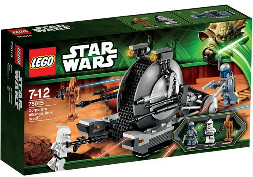 Lego Star Wars 75015 Lego Star Wars 75015 Corporate Alliance Tank Droid ab 15,20€ (statt 25€)
