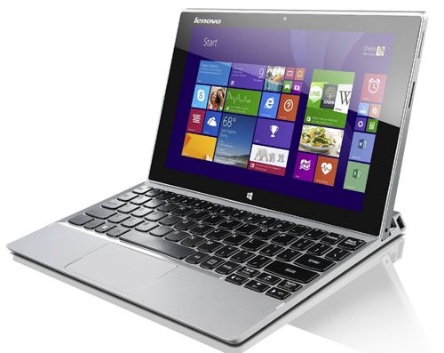 Lenovo Miix 2 10 Notebook Lenovo Miix 2 10   10,1 Zoll Full HD IPS Notebook (1,86 GHz, 2GB RAM, 64GB HDD, Win 8) für 299€ (statt 387€)
