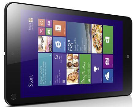Lenovo ThinkPad 8   8 Zoll Windows Tablet (128GB, Full HD, 3G, Win 8.1 Pro) für 199€ (statt 239€)