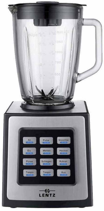 Lentz Mix King2 Kollossos   Cocktail und Smoothie Mixer, Eis Ice Crusher 1,5Liter für 29,90€