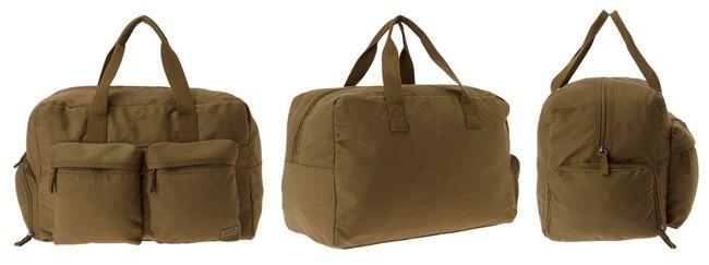 Levis Travel Duffle Levis Travel Duffle (Dark Khaki) Tasche für 33,60€ (statt 69€)