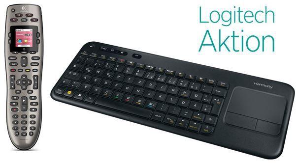 Logitech Logitech Harmony Fernbedienungen und Smart Keys mit bis zu 15% Rabatt
