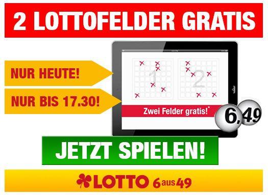 Lottowelt Lottowelt: 2 kostenlose 6 aus 49 Lottofelder für Neukunden