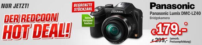 Lumix DMC LZ40 Panasonic Lumix DMC LZ40 Bridgekamera für 179€